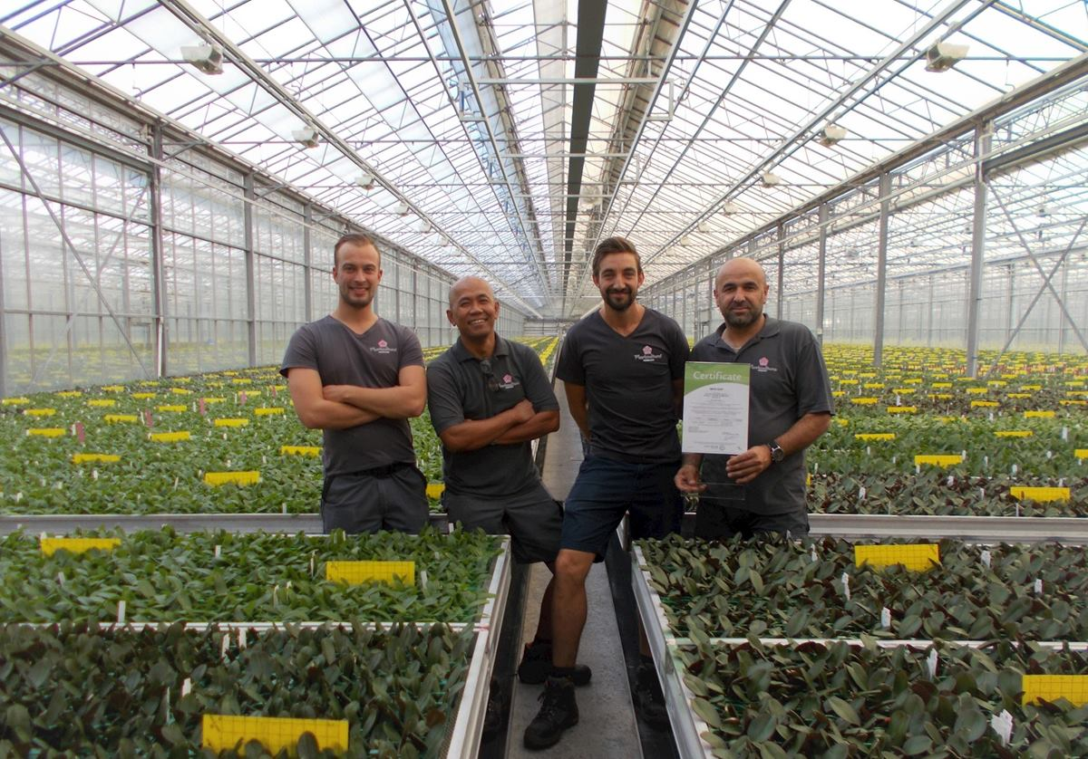 Floricultura obtains MPS-GAP certification